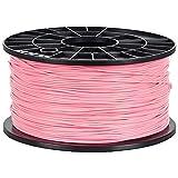 NuNus 3D Printer Impresora PLA Filament 1,75mm 1KG (rosa)