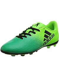 size 40 bf532 9d165 adidas X 16.4 FxG J - Botas de Fútbolpara Niños, Verde - (Versol