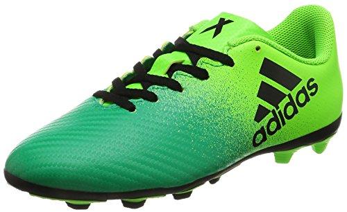 adidas X 16.4FxG J–Stiefel fútbolpara Kinder, Grün–(Versol/Negbas/Vol), 30