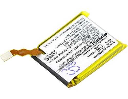 CS-SWR350SH Batteria 280mAh compatibile con [SONY] SmartWatch 3, SWR50 sostituisce GB-S10, GB-S10-353235-0100