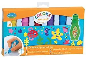 Aladine 42003 - Lote de 6 rotuladores de Colores