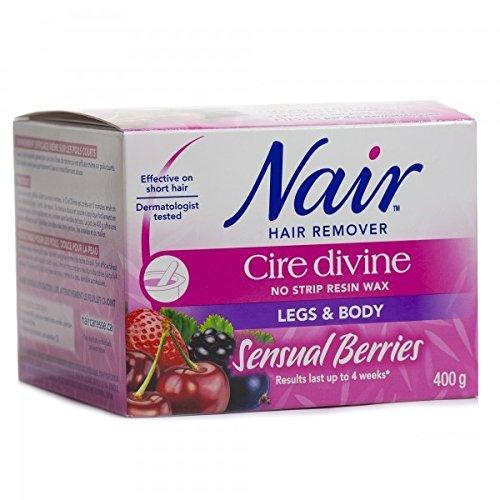 nair-cire-divine-microwaveable-body-hair-removal-wax-kit-sensual-berries-400g-14oz-by-nair