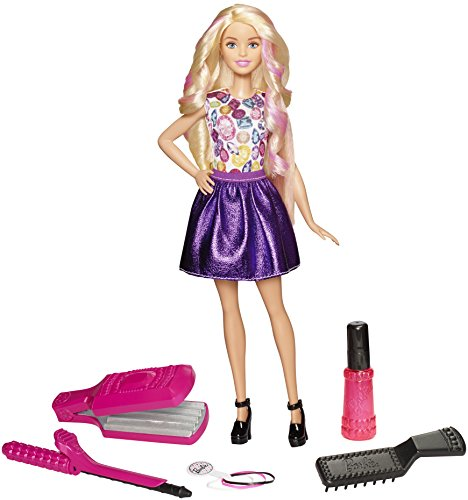 Barbie-DWK49-DIY-Crimps-Curls-Doll