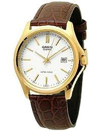 CASIO MTP-1183Q-7A - Reloj analógico, para hombre, color blanco y
