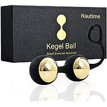 Nautime Boules de Geisha Deluxe Métal boules geisha Couvert par Premium Medical Silicone
