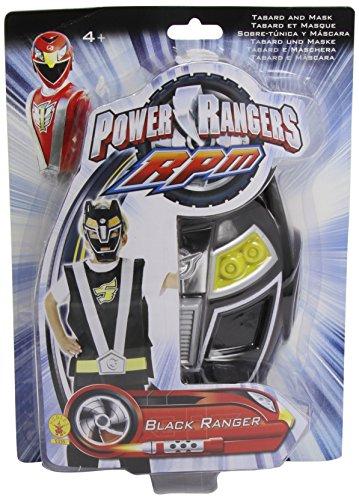 Schwarzes Power Ranger-Set für Kinder