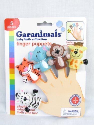 Garanimals baby bath Finger Puppets