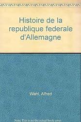 Histoire de la République fédérale d'Allemagne