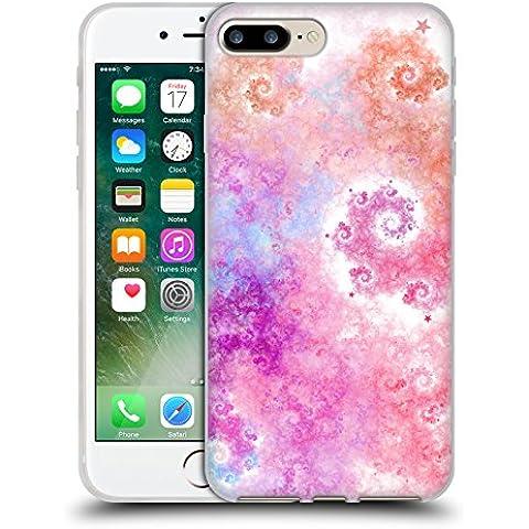 Ufficiale Eli Vokounova Zucchero filato Arte Frattale Cover Morbida In Gel Per Apple iPhone 7 Plus