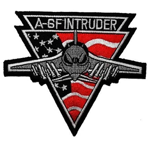 3.5 x 4A-GF INTRUDER military aircraft United States U.S. military Officer USA Badge Embroidered Sew (Intruder Patch)