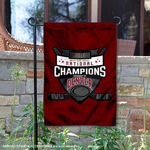 Denver Pioniere Herren 's College Hockey National Champions Garten Flagge