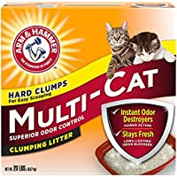Multi-cat strength clumping litter (original ) 9.7 kg