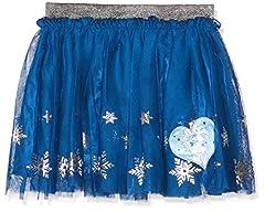 Idea Regalo - Disney La reine des neiges 2082 Gonna, Blu Bleu, 6 Anni Bambina