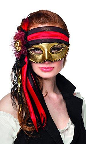 Boland 00285 - Augenmaske Venice Donna pirata