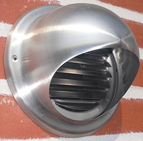 Preisvergleich Produktbild Ablufthaube NW150 Aussenhaube Lufthaube mit Klappe Edelstahl Dunstabzug WSKE150