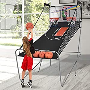 COSTWAY Basketballkorb Basketballständer Basketball Automat Basketballspiel...
