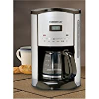 Farberware FCM12SS 12-Cup Coffeemaker, Stainless/Black