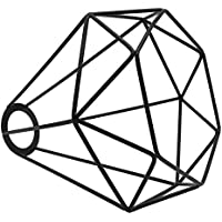 Monkys Vintage Abat-Jour en métal, rétro Panier en métal Cage Plafond Suspension Abat-Jour géométrique Abat-Jour…