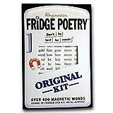 Kühlschrank Poesie - magnetisch Wörter ¦ Original Set - Neuheit Wörter Geschenk Gedicht Muse Magnet