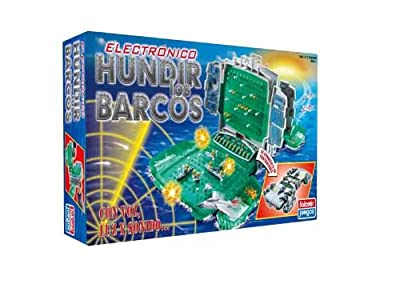 Falomir - Hundir Los Barcos Electronico Con Voz Luz Y Sonido Real 32-22004 de Falomir