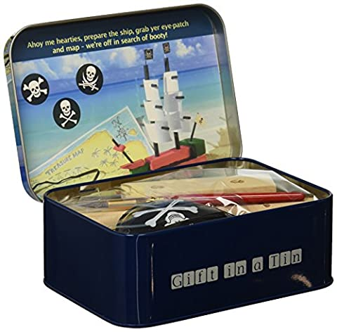 Pirate Ship Gift in a Tin - Nave Tin