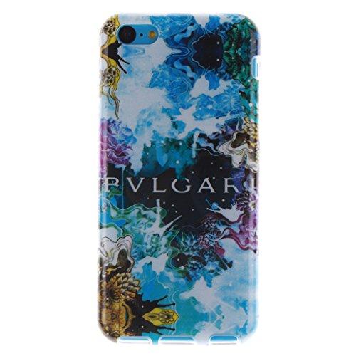 MYTHOLLOGY iphone 5C Coque, Doux Flexible Case Silicone TPU Protection Cover Housse Apple iphone 5C GXZM Beau-XY