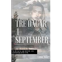 Tre dagar i september (Swedish Edition)