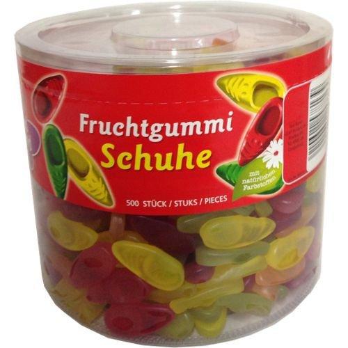 Red Band Fruchtgummi-Schuhe Dose