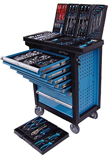 Werkstattwagen Werkzeugwagen Werkzeugkiste Werkzeugschrank XXL 7 Schubladen - 7