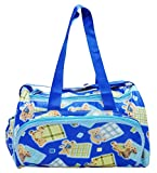 Wonderkids Teddy Print Baby Diaper Bag (...