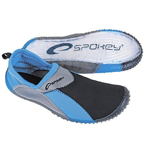 Spokey Chaussures De Surf Pour Adultes, Chaussures De Plage Pour Chaussures De Sport - Blau Und Grau