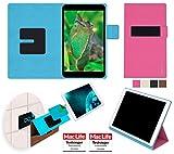 reboon Hülle für Blaupunkt Polaris 808 BE Tasche Cover Case Bumper | in Pink | Testsieger