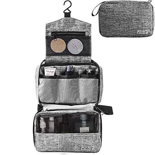 Kulturtasche zum Aufhängen Faltbarer Reise Kulturbeutel mit Tragegriff, Design 2019 Waschtasche, Premium-Qualität Waschbeutel für Männer & Frauen