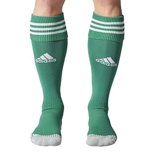 Adidas adisock 12 - calzini da calcio uomo, verde (ver_cr/bianco), 3, 1 paio