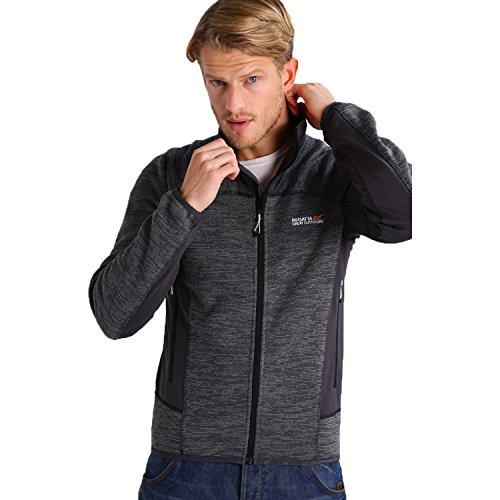 Regatta Herren collumbus III Fleece Jacke–Seal Grau (rma277038V2) S grau (Full Zip Hoodie Sherpa)