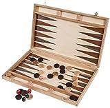 Backgammon SQUARE - 40 x 40 cm - Bucheholz -