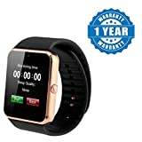 #6: Captcha Gt08 Wrist Smart Watch Compatible With All Smartphones (Color May Vary)