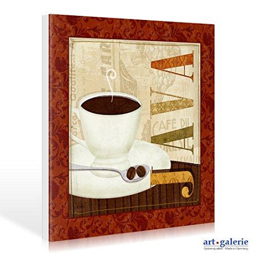 Leinwandbild Kaffee Collage