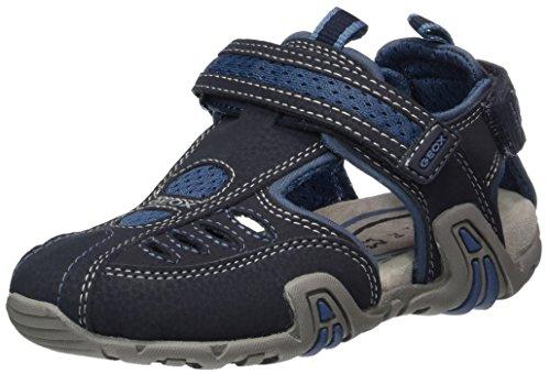 Geox Jungen JR Sandal Kraze D Geschlossene, Blau (Navy/AVIOC0700), 28 EU