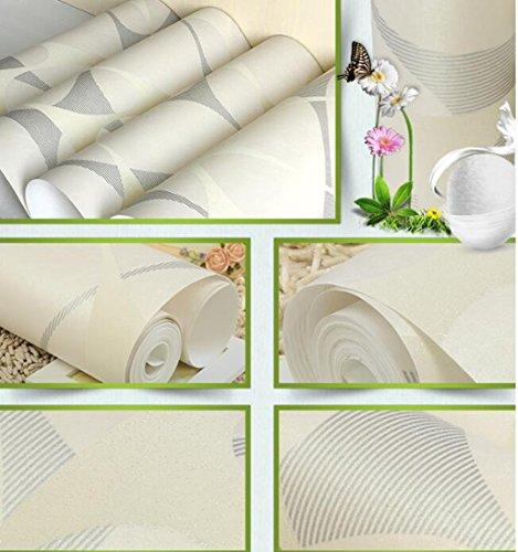 Sucastle®,Einfache moderne Schlafzimmer, Wohnzimmer Tapeten, Europäischen Vliestapeten (Vorhänge Sparkly Schlafzimmer)