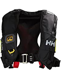 Helly Hansen Sailsafe Inflatable Race Chaleco, Hombre, Negro (Negro 980), One Size (Tamaño del Fabricante:Unica)