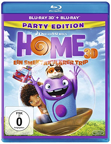 HOME - Ein smektakulärer Trip [3D Blu-ray] - Fox-stitch