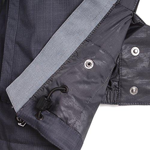 Volcom Herren Snowboardjacke Commercial Ins Jacket Charcoal