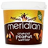 Meridian Organic Natural Crunchy Peanut Butter 1000g