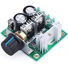 DROK® 13KHz PWM DC regolatore di velocità motore 12-40V 10A Pompa Ventilatore continua della velocità (Piccola Torsione)