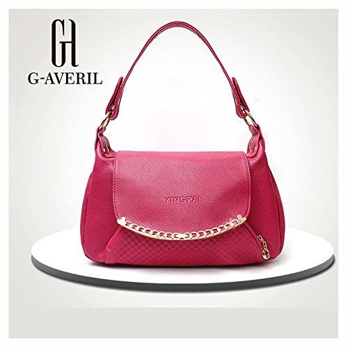 G-AVERIL, Borsa a zainetto donna Blu Blue Rose red