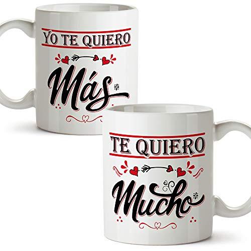 Un Regalo Original para Familia y Amigos Taza Cer/ámica para Desayuno en Color Blanco de 300 ml El mejor ABUELO del mundo!