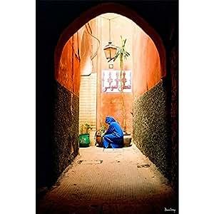 Tableau design Porte marocaine