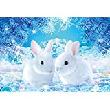 Mundial de conejo minimo de espera 1.000 rompecabezas de micro-pieza de puzzle surgirae de la piel (26x38cm)