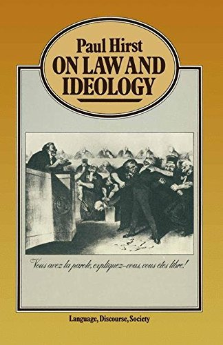 On Law and Ideology (Language, Discourse, Society) by Paul H. Hirst (1979-07-04)